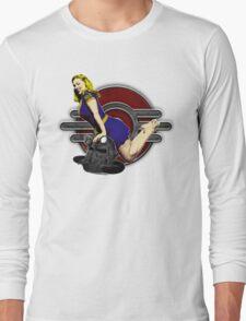 atomic bombshell Long Sleeve T-Shirt