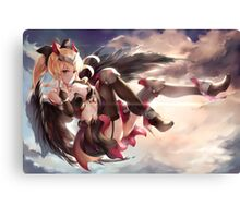 Orignal Girl Canvas Print