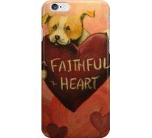 Pit Bull~Dog~FAithful Heart~Valentine~LOVE iPhone Case/Skin