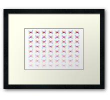 Butterflies Fade Framed Print