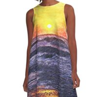 Ocean Sunrise A-Line Dress