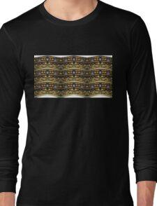 scull flamingo Long Sleeve T-Shirt