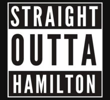 Straight Outta Hamilton One Piece - Short Sleeve