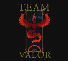 Team Valor T-shirt - Poke Go T-shirt  Unisex T-Shirt