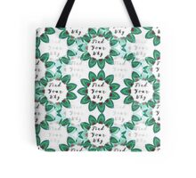 Find Your Why - Yoga Gear Tote Bag
