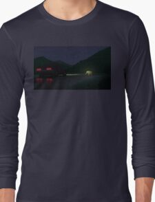 Alberta Mountains Long Sleeve T-Shirt