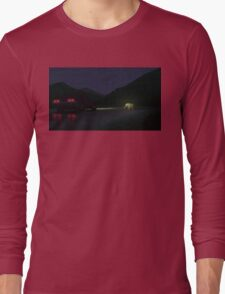 Alberta Mountains Long Sleeve T-Shirt
