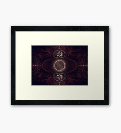 Nemesis Grand Julian Fractal Framed Print