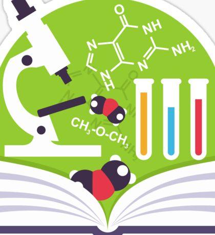 Organic Chemistry Emblem Sticker