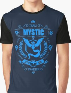 Pokemon Go | Team Mystic | Dark Blue Background | HUGE | New! | High Quality! Graphic T-Shirt