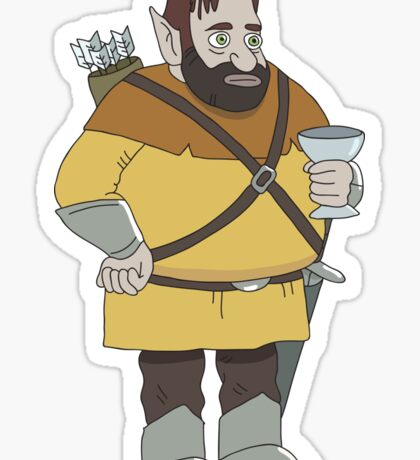 HarmonQuest: Fondue Zoobag Sticker