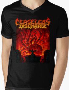 Ceaseless Discharge Mens V-Neck T-Shirt