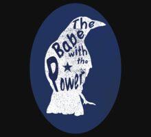 Crow Babe Power Shield Kids Tee