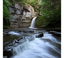 Eagle Cliff Falls, Village of Montour Falls, New York Photographic Print