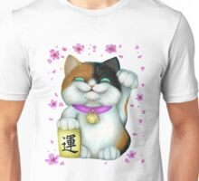 Calico Lucky Cat Unisex T-Shirt