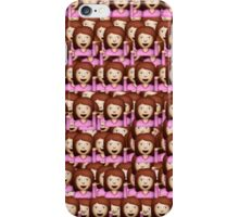 Sassy Emoji Collage iPhone Case/Skin