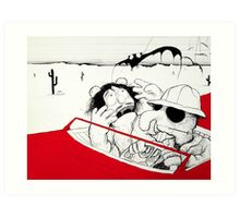 Fear and Loathing in Muppet Vegas Art Print