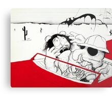 Fear and Loathing in Muppet Vegas Metal Print