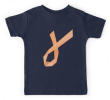 Geometric Womb Cancer Ribbon Kids Tee