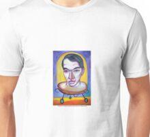 Picasso en la maquina genetica duplicadora por Diego Manuel Unisex T-Shirt