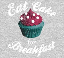 Eat cake for breakfast, with vintage wear and tear by moonshine and lollipops