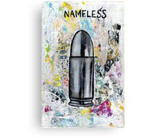 Nameless Canvas Print