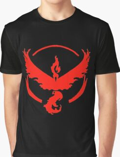 Pokemon Go | Team Valor | Black Background | HUGE | New! | High Quality! Graphic T-Shirt