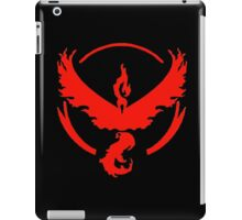 Pokemon Go | Team Valor | Black Background | HUGE | New! | High Quality! iPad Case/Skin