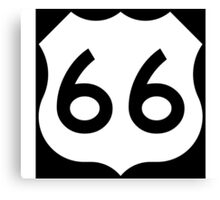 Route 66 - US Highway Road Trip T-Shirt Poster Sticker Canvas Print