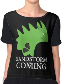 Sandstorm is coming Chiffon Top