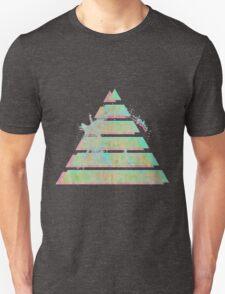 Vaporwave Pyramid Unisex T-Shirt