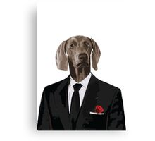 The Dog Father - Godfather parody Canvas Print