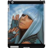Lady Gaga Painting iPad Case/Skin