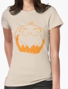 Lonnng Halloween Womens Fitted T-Shirt