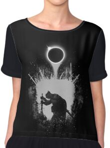 Fire Eclipse Chiffon Top
