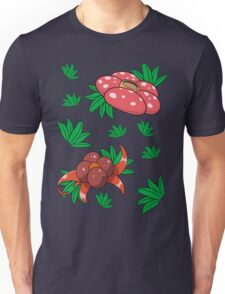 Oddish, Gloom, Vileplume Pattern Unisex T-Shirt