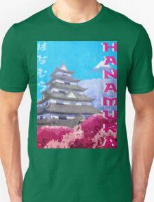 Hanamura Vintage Travel Poster Unisex T-Shirt