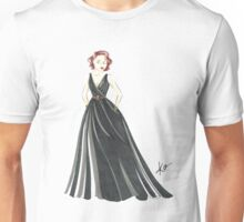 Black Widow, Evening Gown  Unisex T-Shirt
