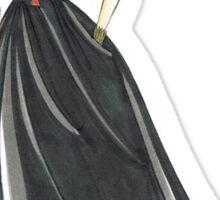Black Widow, Evening Gown  Sticker