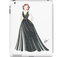 Black Widow, Evening Gown  iPad Case/Skin