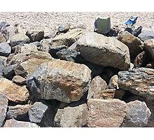 rocks and more rocks Photographic Print