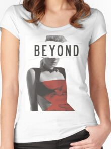 Beyond Women's Fitted Scoop T-Shirt