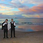 Sunset Wedding Photography by Stephanie Jensen