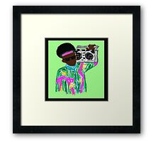 Take it back to the 90s Framed Print
