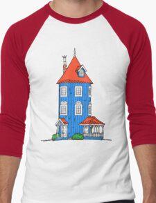 Moomin House Men's Baseball ¾ T-Shirt
