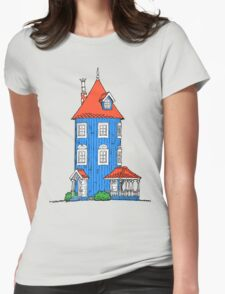 Moomin House Womens Fitted T-Shirt