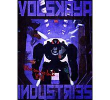 Volskaya Indsustries Vinage Travel Poster Photographic Print