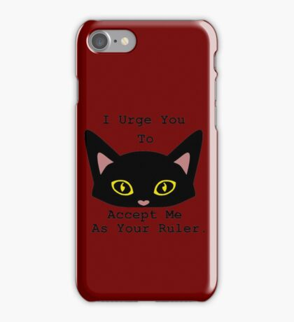 Salem Saberhagen's needs. iPhone Case/Skin