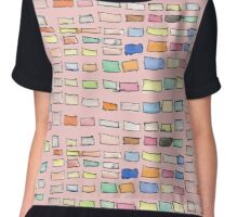 Rectangles by Katrina Chiffon Top