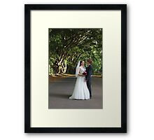 Forest Wedding Photography  Framed Print